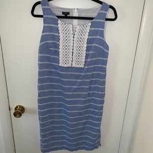 Talbots, Size 6, Light Blue Dress